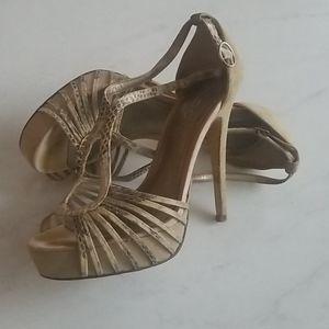 **2 for $25** Aldo snakeskin sandals